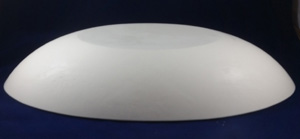 Oval Hump Mold, Made of Plaster for Pottery Making