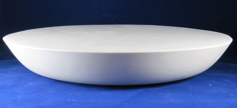 Deep Plate Plaster Mold - make pottery plates, serving platters, pasta bowls