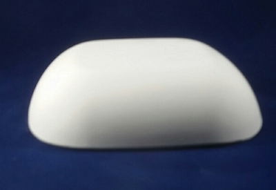 Rounded Rectangular Hump Mold, Made of Plaster for Pottery Making